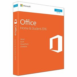 Activation Online Microsoft Software Office 2016 Home and Student with DVD office 2016 HS PKC Retail Box Package